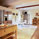 Luxury well equipped kitchen at Domaine Saint Hilaire