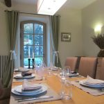 Dining room at Domaine Saint Hilaire