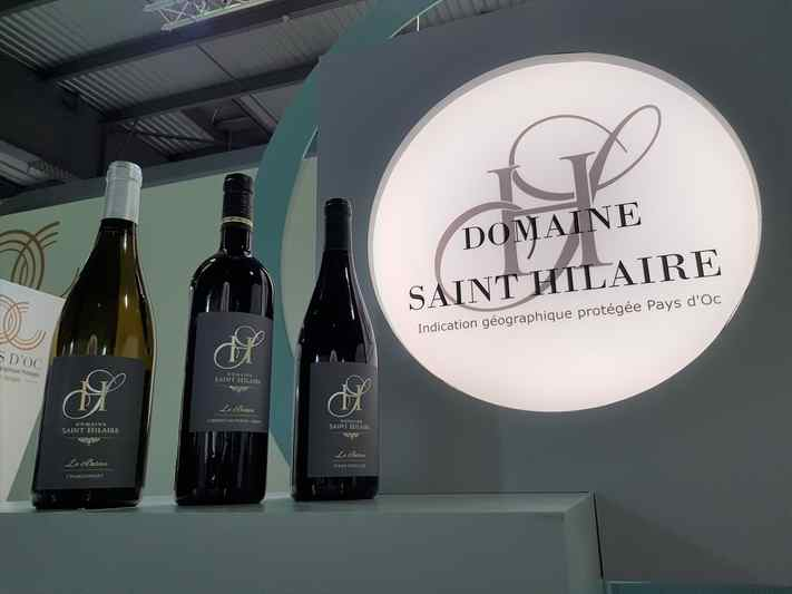 Le Baron award winning Languedoc wines from Domaine Saint Hilaire