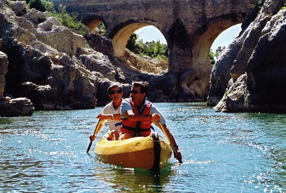 Kayaking in the Languedoc