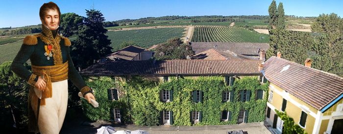 Panorama view of Domaine Saint Hilaire - award winning vineyard, holiday and wedding venue