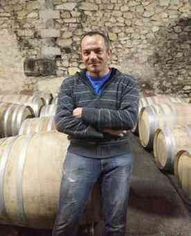 Vincent, the award winning wine-maker at Domaine Saint Hilaire